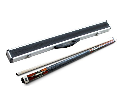 New Arrival! Champion Sport Gn Serious Billiards Cue From Champion Sport Co + Free Glove & Aim Trainer, Model: Gn-919(21 oz, Aluminum Box Case)