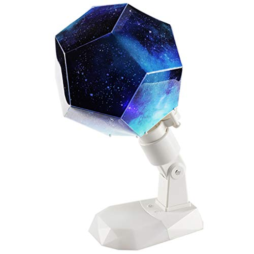 Newkelly Version 12 Constellation Projection Lamp DIY Rotatable Charging ()