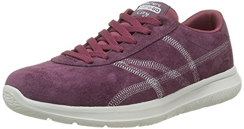 Citytrainer On The Damen Burgund Skechers Go Rot wI8q8v