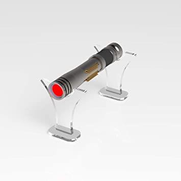 Acrylic Lightsaber Stand Low Profile Lightsaber Stand Star Wars Display