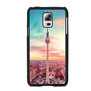 Natural Scenery Artistic Graphics Design Samsung Galaxy S5 I9005 Pretty Nature Landscape Print Hard Plastic Back Phone Case Cover (city tower)