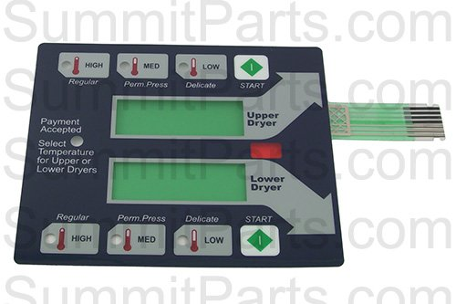 BLUE MEMBRANE SWITCH TOUCH PAD FOR NEW DEXTER STACK (Touchpad Membrane)