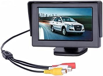 Bw 4 3 Zoll Tft Lcd Auto Monitor Auto Rückfahrkamera Elektronik