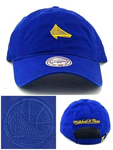 NBA Mitchell & Ness Elements Tonal Team Logo Adjustable Strapback Dad Hat (Golden State Warriors)