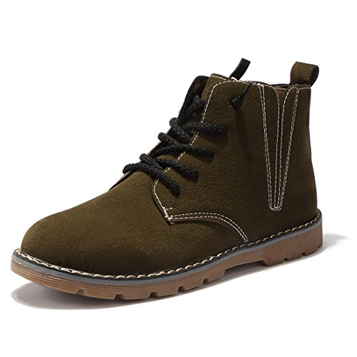 BTDREAM-Boys-and-Girls-Side-Zipper-Ankle-Snow-Boot-Warm-Winter-Outdoor-Walking-Shoes