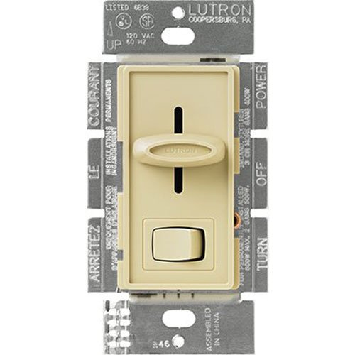 - Lutron S600PH-IV Electronics Skylark Dimmer with Preset Switch, Ivory