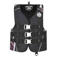 BRP Sea-Doo Ladies' Vibe Nylon Life Jacket Vest PFD Sea-Doo X-LARGE PINK by Sea-Doo