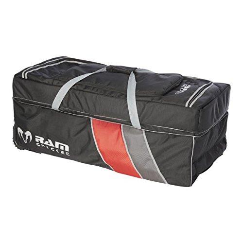 Cricket Pro Ram-Kit per giocatori di Cricket, colore: nero/rosso, 95 cm x 50 cm x 41 cm 4650-C-P