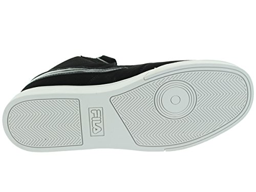 Fila Vulc 13 Sneakers Sintetiche Punta Rotonda Uomo Nero / Bianco / Argento Metallizzato