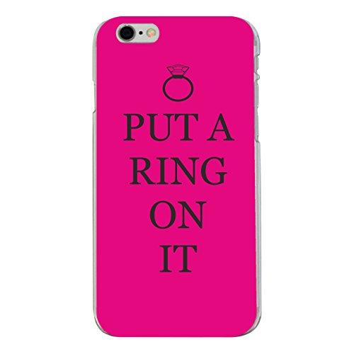 """Disagu Design Case Coque pour Apple iPhone 6 PLUS Housse etui coque pochette """"PUT A RING ON IT"""""""