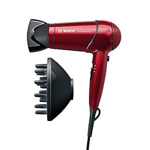 Bosch PHD 5712 GlamouRed Care - Secador de pelo con difusor y boquilla