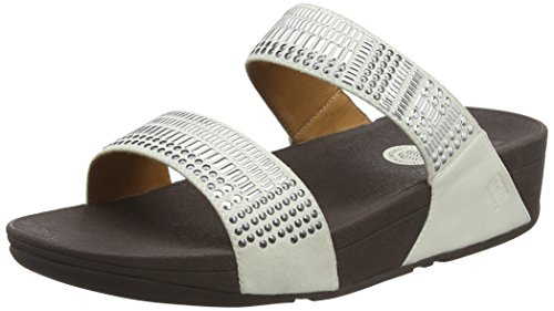 Fitflop Aztec Chada Slide Womens B00S143586 Sandals White B00S143586 Womens Shoes d59ae0