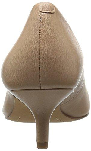 206 Collective Women's Queen Anne Kitten Heel Dress Pump Nude Leather 2014 newest online best place websites online sale best place ylDQt67