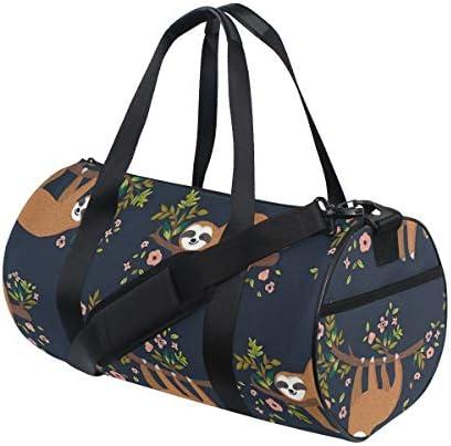 ボストンバッグ 可愛い ナマケモノ ジムバッグ ガーメントバッグ メンズ 大容量 防水 バッグ ビジネス コンパクト スーツバッグ ダッフルバッグ 出張 旅行 キャリーオンバッグ 2WAY 男女兼用
