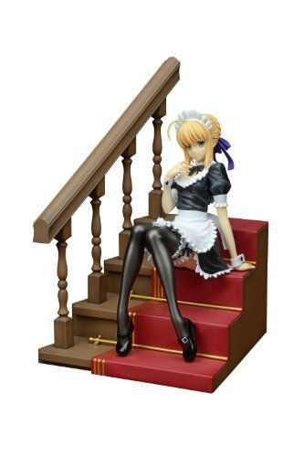 Saber  paranoia maid Ver. (1 7 scale PVC painted completed product) by Animewild by Animewild