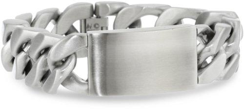 Lavari - Stainless Steel Thick ID Bracelet