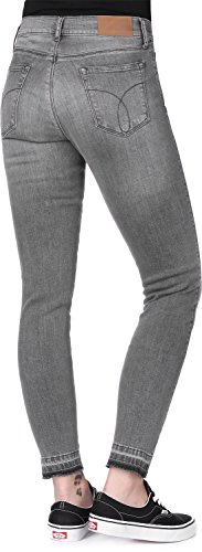 Vaquero Calvin Klein W Gris Skinny Jeans Twisted MR Ankle H0HPqwB