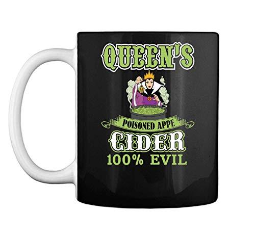 Evil Queen Cider Poisoned Apple Goth Mug Coffee Mug (White, 11 oz)