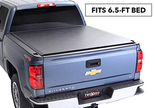 "TruXedo Deuce Soft Roll-up Truck Bed Tonneau Cover | 772001 | fits 15-19 GMC Sierra & Chevrolet Silverado 2500/3500 6'6"" Bed"
