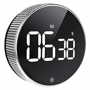 BOSAI Timer da Cucina, LED Cronometro o Conto alla Rovescia Digitale Timer per Cucina,Knob Twist Design,Cottura, Classe… 3