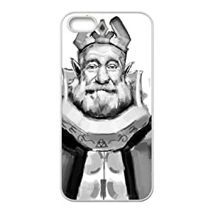 iPhone 5 5s Cell Phone Case White The Legend of Zelda The Wind Waker King Hyrule G3I7OF