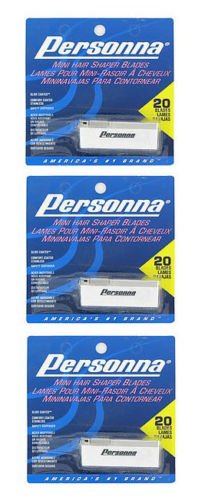 NEW Personna Mini Hair Shaper Injector Blades 60-BLADES by Brand New (Image #2)