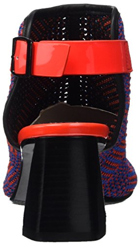 Verenigde Naakt Dames Zink Fab Mid Sandalen Veelkleurige (laser Geweven)