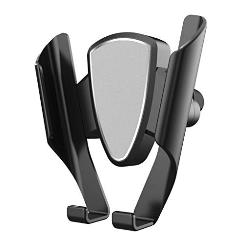 MChoice❤️Gravity Car Phone Holder Air Vent Mount Stand for iPhone X Xs Max for Samsung S9 (Silver) ()