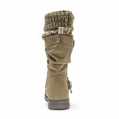 MUK LUKS Women's Sky Winter Boot Taupe 6LUrHr
