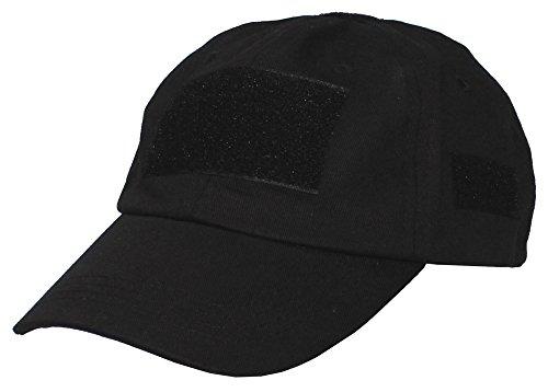 Gorra de uso, con velcro, color HDT-camo, tamaño medium negro