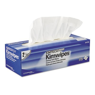 (Kimberly Clark 34705 Kimtech Science Kimwipes, 2-Ply, 11.8