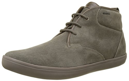 Geox Men's U Box H High Sneaker Beige (Taupe) pFCOq