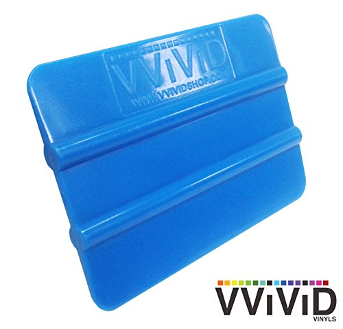 VViViD Blue Handheld Vinyl Wrap Applicator Squeegee ()