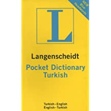 Pocket Turkish Dictionary Langenscheidt