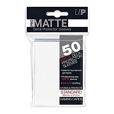 Ultra Pro Pro-Matte White Deck Protector: Toys & Games