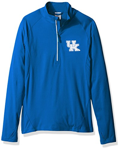 - Levelwear LEY9R NCAA Kentucky Wildcats Adult Women Energy Insignia Half Zip Mid-Layer, Small, Royal Blue