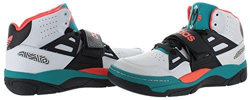 Adidas Heren Mutombo Tr Block Met Wit-zwart-groenblauw G98039 Multicolor