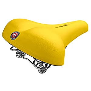 Schwinn Fashion Comfort Seat, Yellow