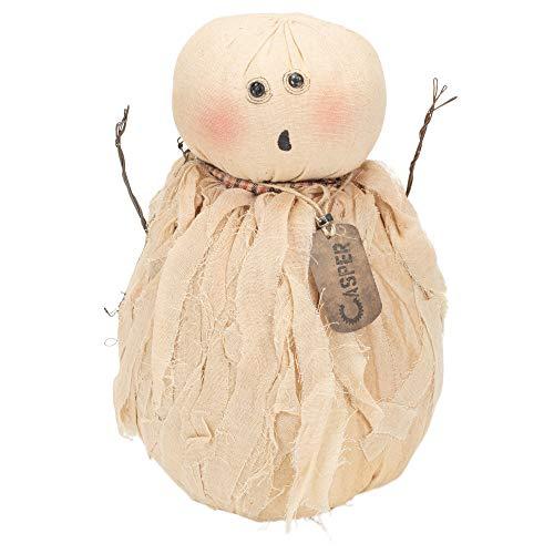 (Honey and Me Casper Ghost Cream 10 x 5 Cotton Blend Metal Halloween Collectible)