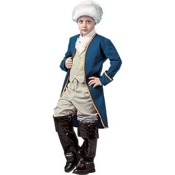 Amazon.com: Disfraz de George Washington Boy – Large: Clothing