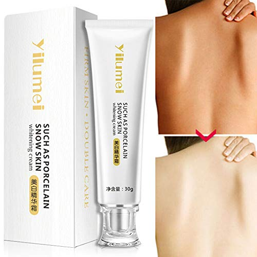 Fullwei Skin Lightening Cream, Face Body Brightening Cream,Instant Dark Skin Bleaching Lotion Concealer Newly,Natural Whitening Cream Gel,Repairs & Restores All Skin (White)