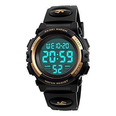 Kid's Digital Watch Outdoor Sports 50M Waterproof Electronic Watches Alarm Clock 12/24 H Stopwatch Calendar Boy Girl Wristwatch from DAYLLON