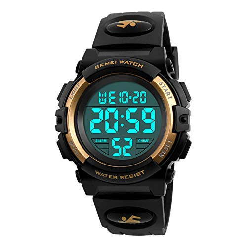 Best Wristwatch Watch For Girls Boys - Kids Digital Watch Outdoor Sports 50M