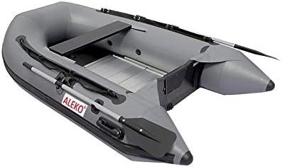 Amazon.com: Aleko 8.4 pies Gris Inflatable Boat aluminio ...