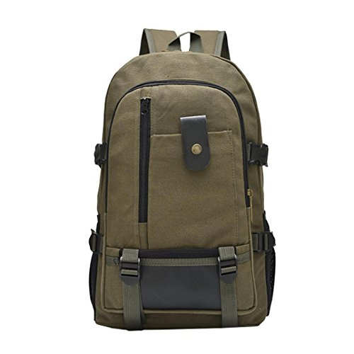 Travel Multifunction For 20l Men Laptop Backpack Design 35l Rucksack Bags Green Backpack Yuan College Camping School canvas EwAqOf6