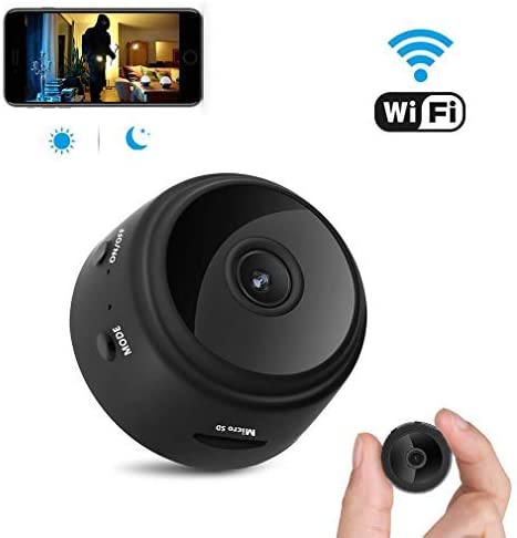 Spy Camera AC Adaptor WIFI IP enabled live stream from anywhere in the world 1080P HD Mini Camera Covert Hidden Security Surveillance Camera with Motion Detection SD card included