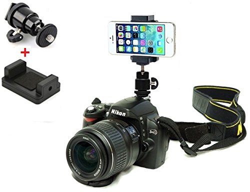 DSLR Hot Shoe Flash Camera Mount Holder for iPhone 6 plus/iPhone 6 5S 5C 5G 4S 4G