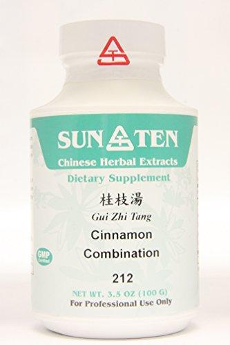 SUN TEN - CINNAMON COMBINATION Gui Zhi Tang Concentrated Granules 100g 212 by (Gui Zhi Tang)
