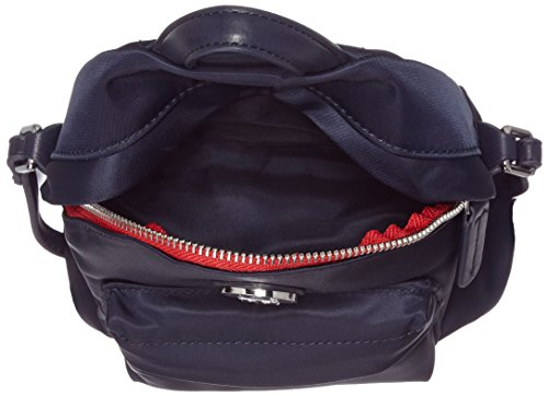 Tommy Hilfiger Ladies Poppy Mini Zaino Tracolla Crossover Blu (tommy Navy), 7,5x20x16 Cm