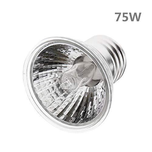 (STTQYB 75W UVA + UVB Full Spectrum Sun Lamp Sunbathe Reptile Lizard Lamp UV Heating Lamp (75W))